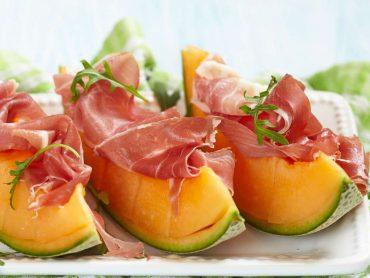 ricetta prosciutto e melone