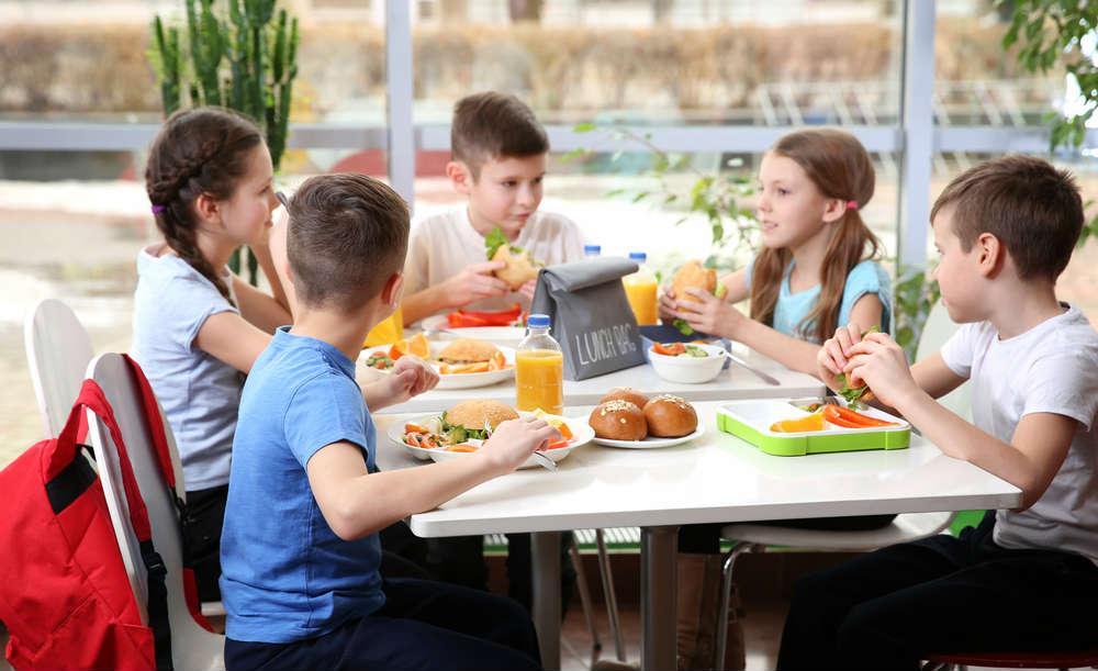 mensa scolastica gratuita