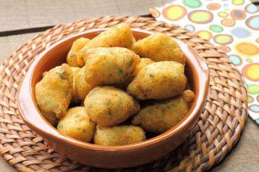 ricetta frittelle di baccalà