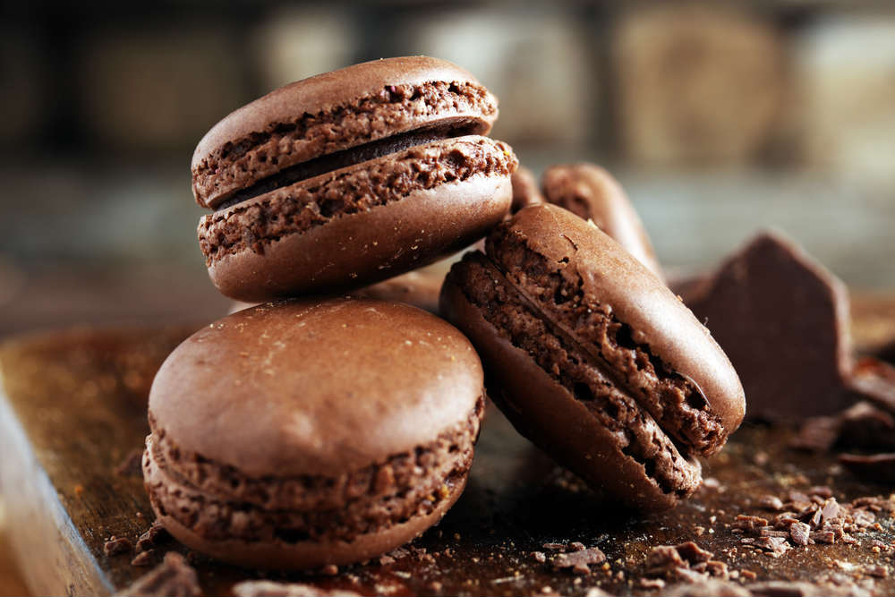 ricetta macaron al cioccolato