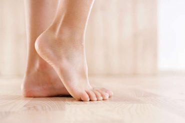 come curare i piedi