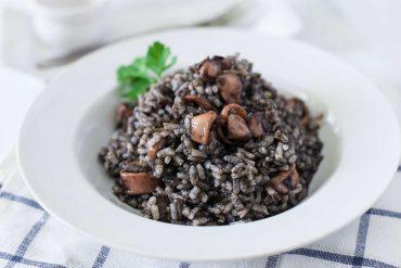 ricetta risotto al nero di seppia
