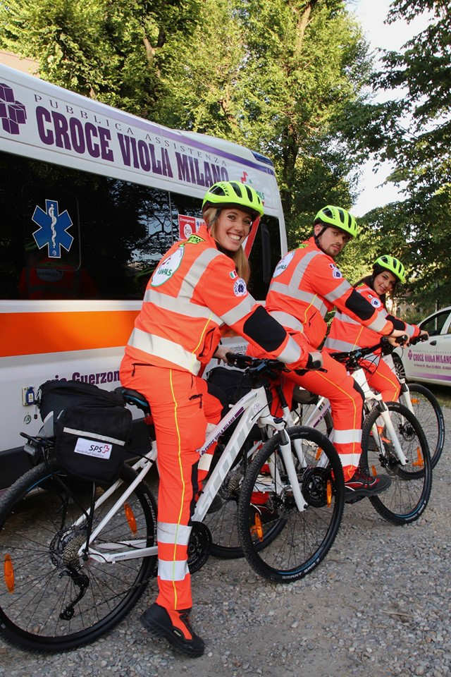 soccorso in bici