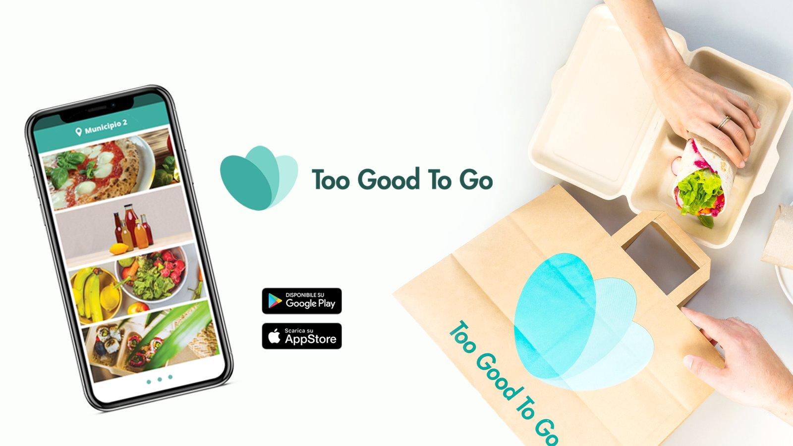 Too Good To Go: l'app che evita lo spreco di cibo