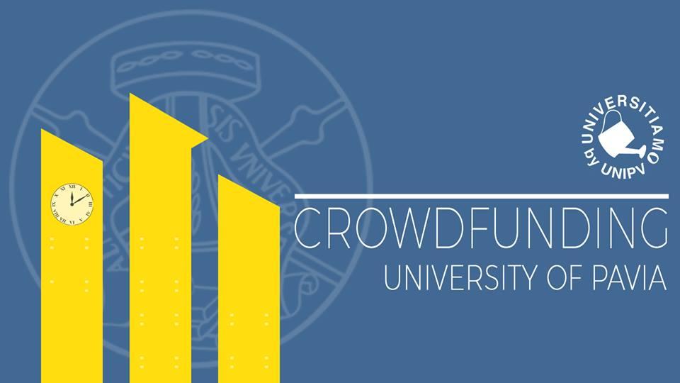 universitiamo crowdfunding pavia