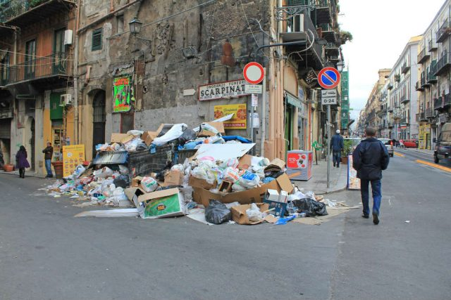 emergenza rifiuti palermo