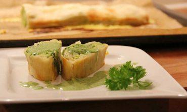 ricetta strudel salato di zucchine
