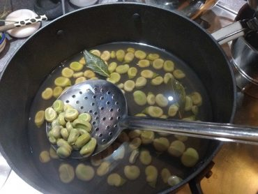 ricetta zuppa di fave