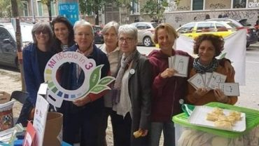 volontarie anti-plastica