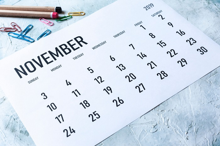 riciclo vecchi calendari