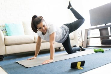 ginnastica in casa