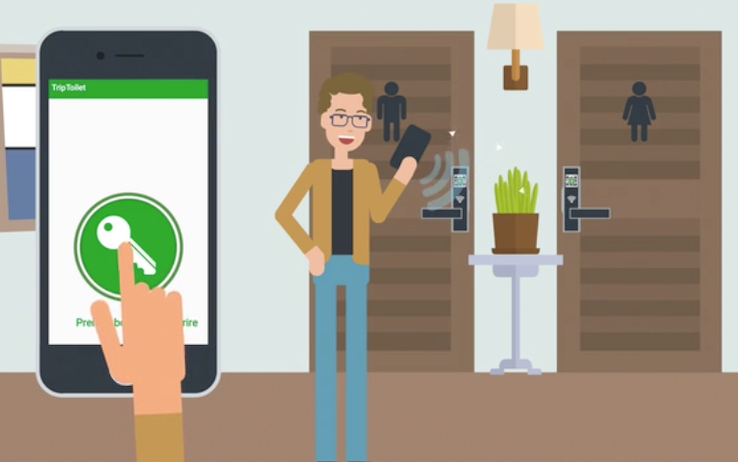 Triptoilet Key, la chiave digitale per andare nel bagno dei bar. Più sicurezza e più igiene per tutti