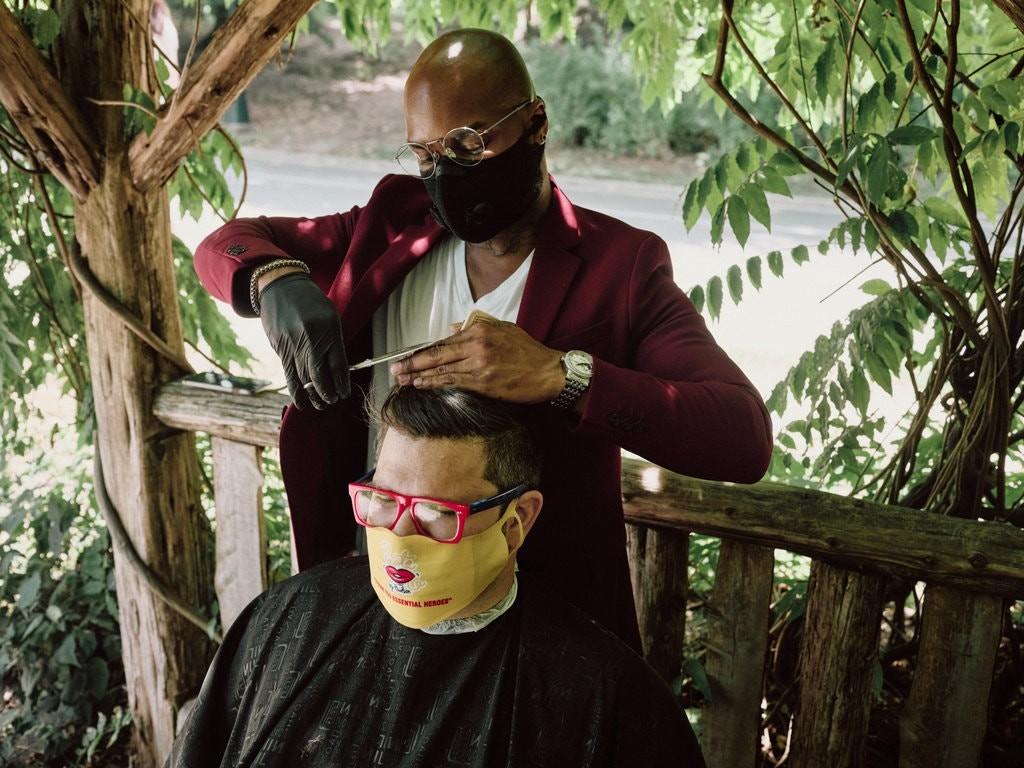 il barbiere del parco new york