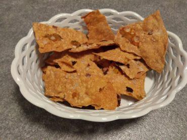 ricetta crackers ai fiori di zucca