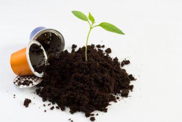 fabbrica per il riciclo delle capsule di caffè