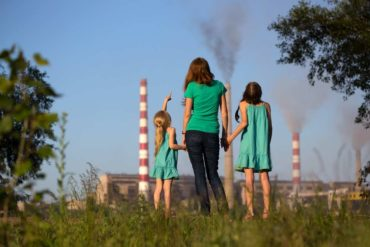 inquinamento e bambini