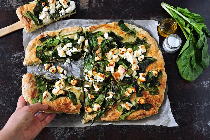 ricetta pizza ortolana