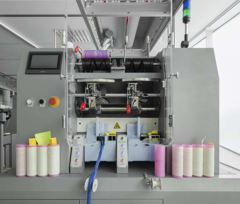 macchinario per riciclare abiti