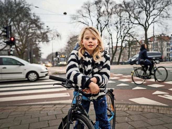 baby sindaca delle bici