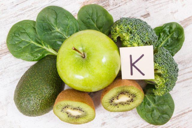 Benefici della vitamina K