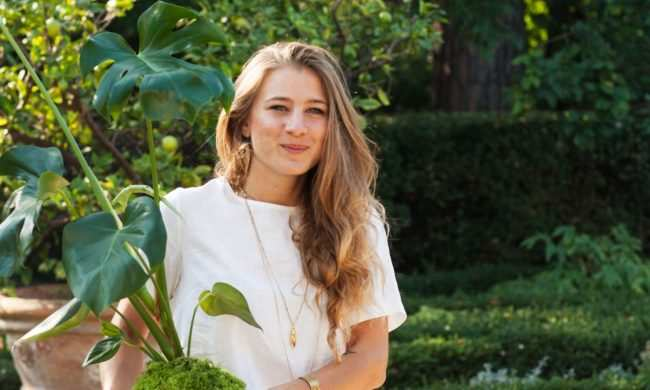 Silvia, trentenne giramondo alla ricerca di piante rare e sconosciute