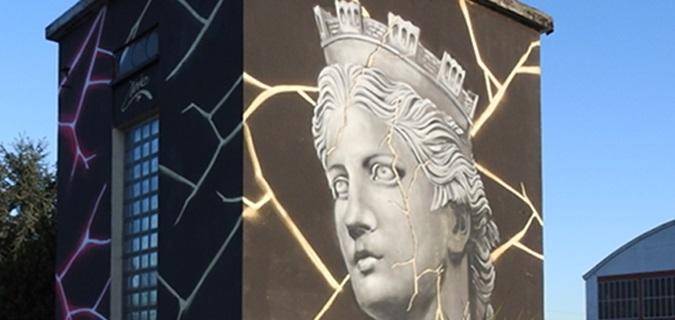 La street art come strumento di riqualificazione. Così anche le cabine elettriche diventano arte