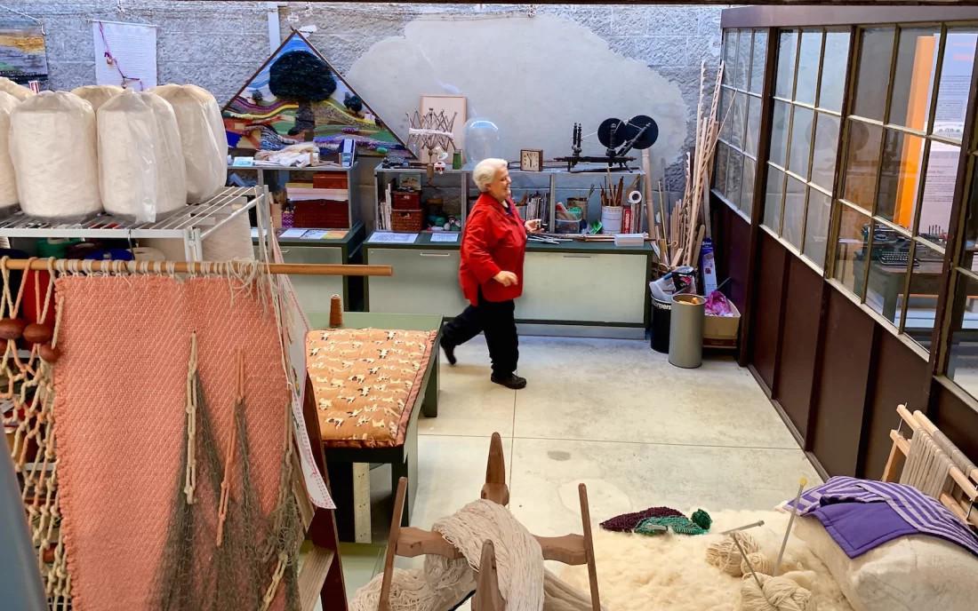 angela giordano maestra tessitrice