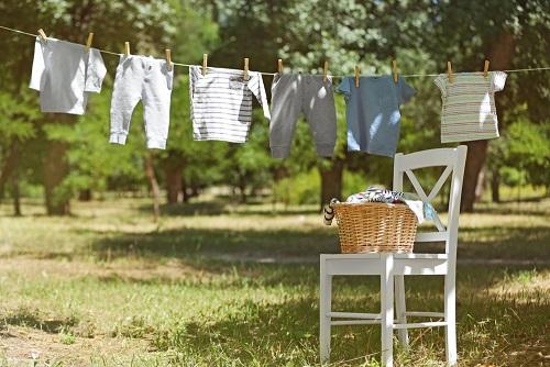 organizzare il bucato