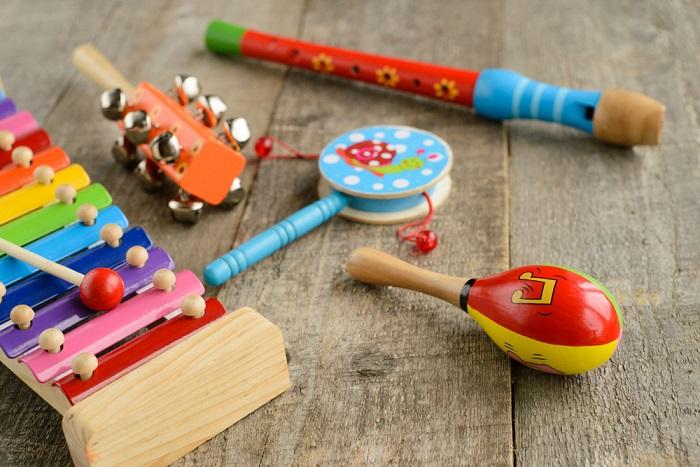 strumenti musicali fai da te per bambini