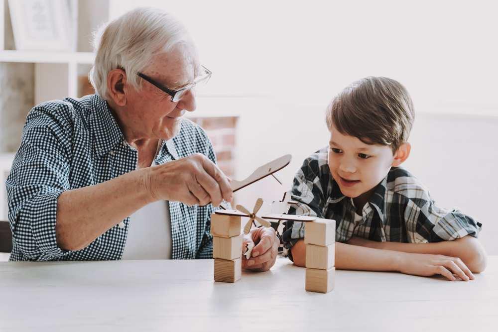 asilo anziani e bambini