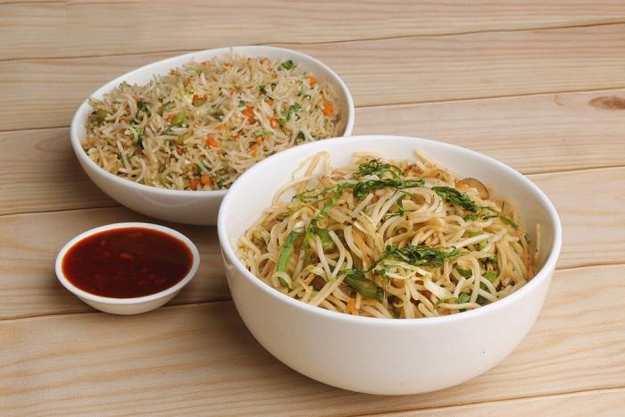 ricetta spaghetti di riso al seitan