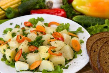 insalata allo zafferano