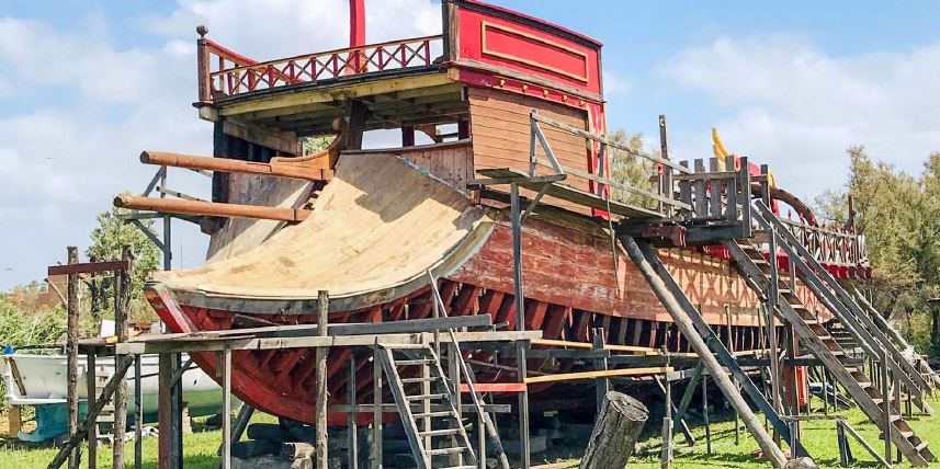 Ricostruire fedelmente una Liburna, un'antica nave romana: il sogno di Francesco e Oscar per valorizzare il territorio