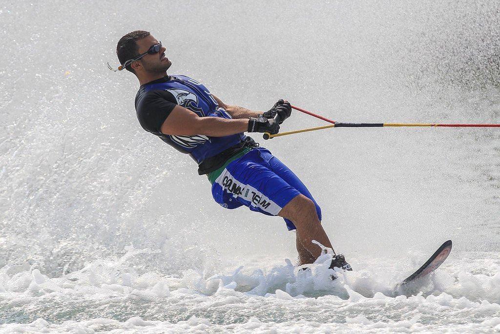 Daniele Cassioli, il più grande sciatore paralimpico di sempre. Cieco dalla nascita, ha vinto di tutto nello sci nautico