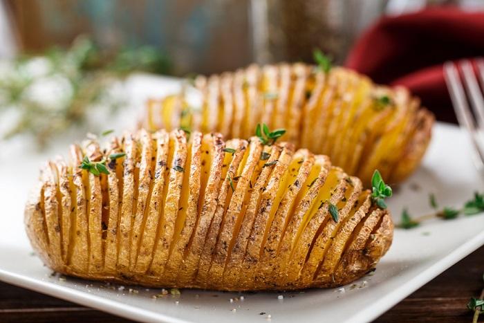 ricetta patate a fisarmonica
