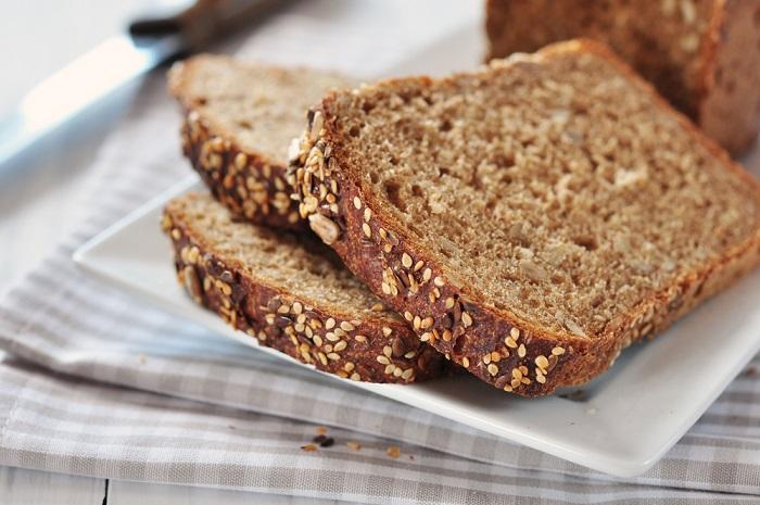 pane integrale al sesamo